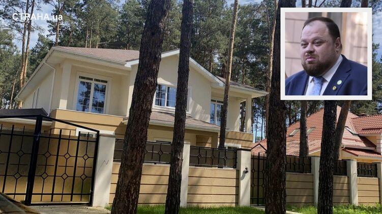 Первый заместитель Дмитрия Разумкова возводит коттедж в Белогородке, фото: Изым Каумбаев,
