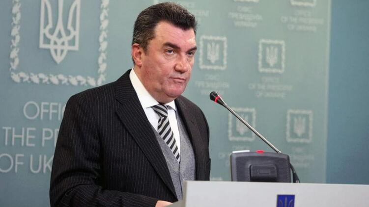 Секретарь СНБО Алексей Данилов. Фото: СНБОУ