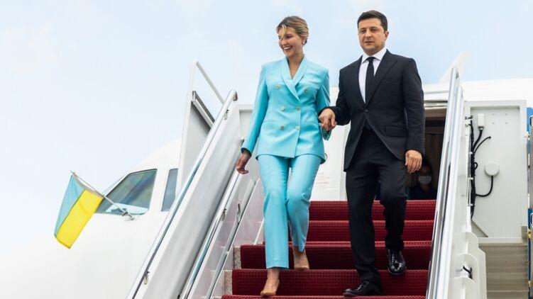 Владимир и Елена Зеленские в США. Фото: сайт президента Украины