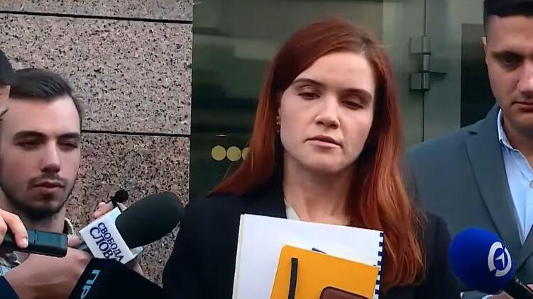 Марьяна Безуглая дала брифинг по вагнеровцам. Кадр из видео