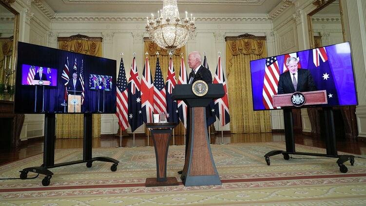 Байден, Джонсон и Моррисон объявили о создании нового военного блока для борьбы с Китаем