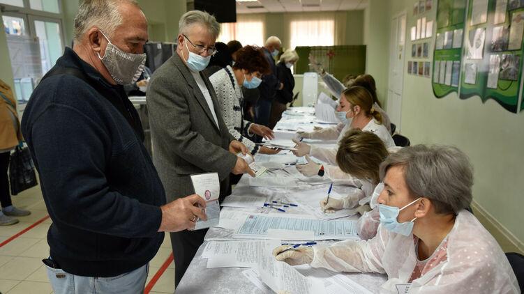 Выборы в Госдуму на территории Донецка. Фото ДАН