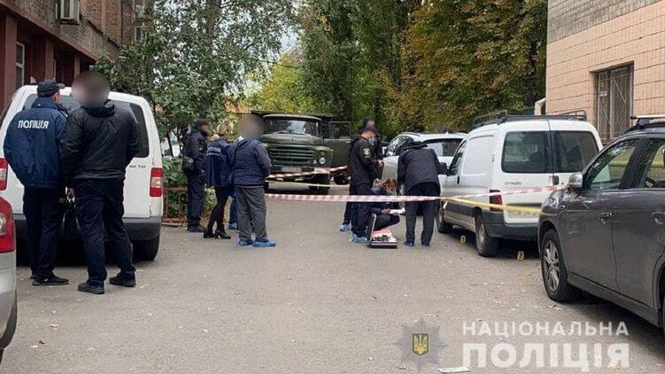Убийство Михаила Козлова в Черкассах. фото: Нацполиция Украины