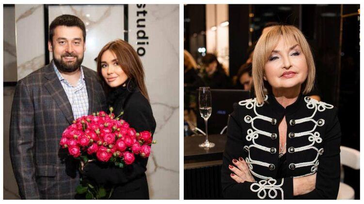Александр, Анастасия и Ирина Луценко на вечеринке в честь запуска, фото: orest.com.ua
