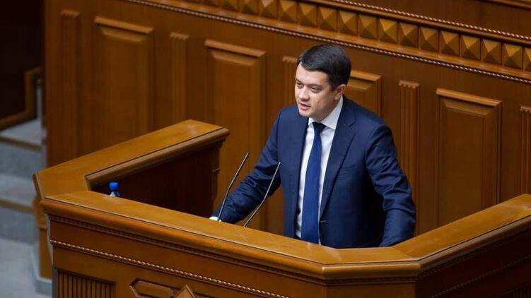 Дмитрий Разумков на посту спикера не стал покорной слугой Банковой, фото: facebook.com/dmytro.razumkov