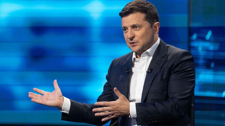 Зеленский дал интервью об офшорах и газе. Фото сайта президента